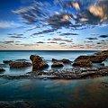 popoludnie nad woda #chmury #ocean #poranek #przyroda #woda #WschódSłońca
