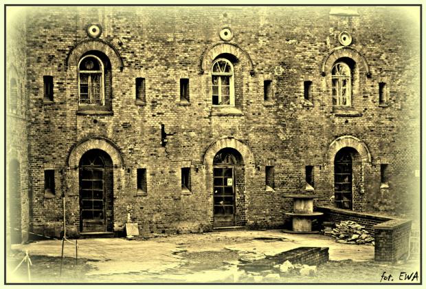 Skrzydło Twierdzy Kraków - Fort Cytadelowy 2 Kościuszko - jeszcze nie remontowane, nieużywane