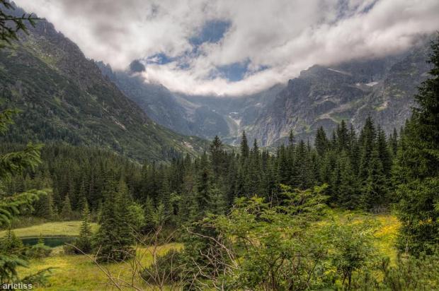 W drodze do Morskiego Oka... #arietiss #góry #HDR #krajobraz #Tatry