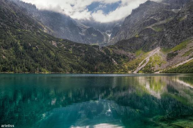 Szmaragdowa toń... #arietiss #góry #HDR #krajobraz #Tatry