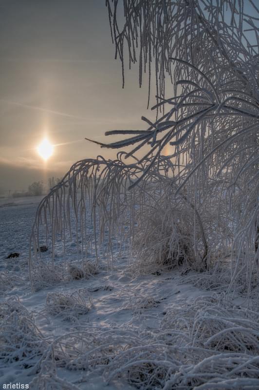 Mrozem malowane... #arietiss #HDR #krajobraz #zima