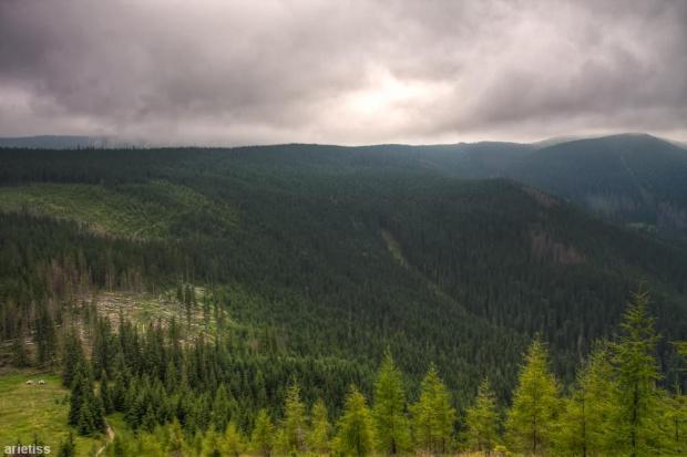 Z góry... #arietiss #góry #HDR #krajobraz #Tatry