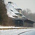 #Lubsko #dworzec #zima