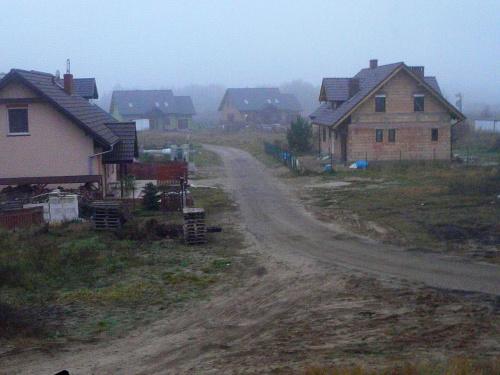 Jesienne mgły. #krajobraz