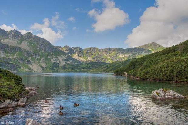 Na Wielkim Stawie... #arietiss #góry #HDR #krajobraz #Tatry