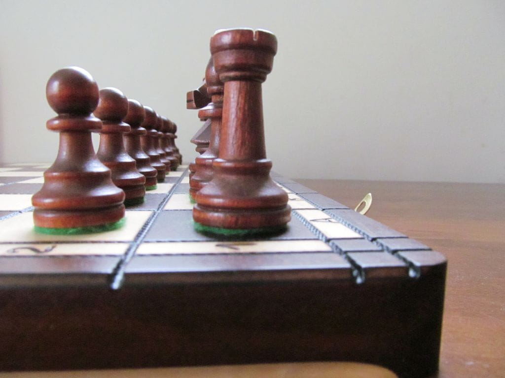 Brand New Hand Crafted Wooden Chess Set Tournament1