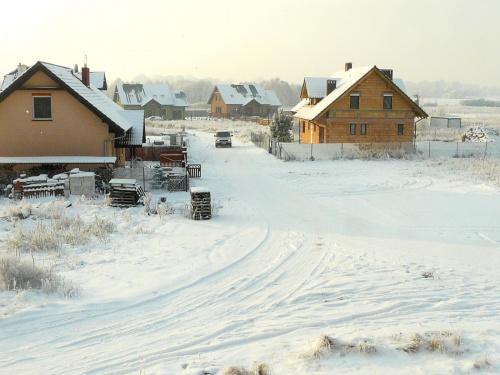 Po grudniowym opadzie śniegu. #krajobraz