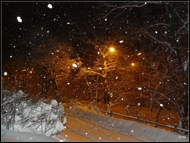 bardzo rano zima oszalała #zima #snieg #sople