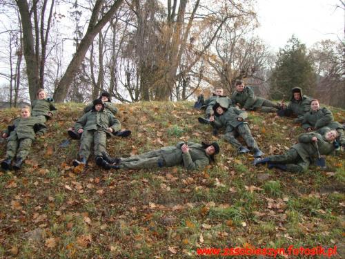 Zgrupowanie klas wojskowych #Sobieszyn #Brzozowa #KlasaWojkowa #ZespółSzkółWSobieszynie
