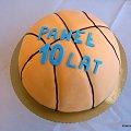 Piłka do kosza #tort #torty #kosz