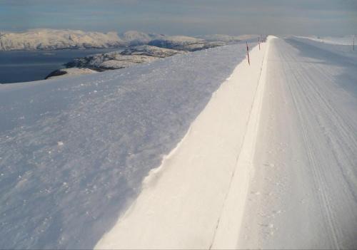 W drodze z Tromso do Alty