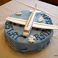 Samolocik na torciku #samolot #lotnisko #TortyOkazjonalne #urodziny #tort