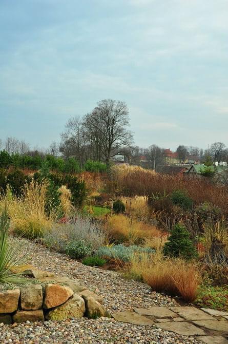 ogród w Radkowie #RabatyPóźnąJesienią