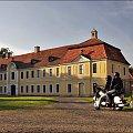 Pałac Brühla w Brodach- jedna z odremontowanych oficyn, które funkcjonują jako obiekty restauracyjno-hotelowe. #Brody