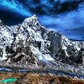 Lhotse na wyciągnięcie ręki #gory #Himalaje #ludzie #natura #Nepal #przyroda