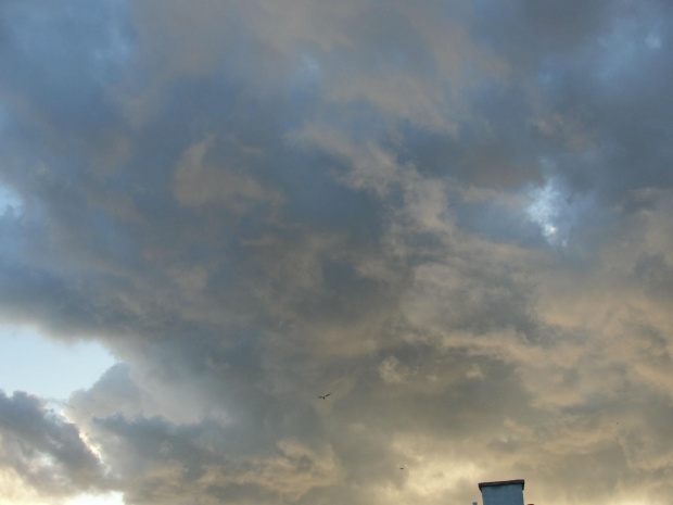 #chmury #Kołobrzeg #pogoda #zachód