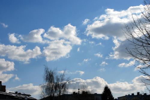 Krakowskie niebo 16 marca