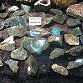 Labradoryty z Madagaskaru #minerały
