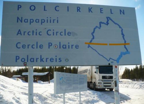 Za kręgiem polarnym