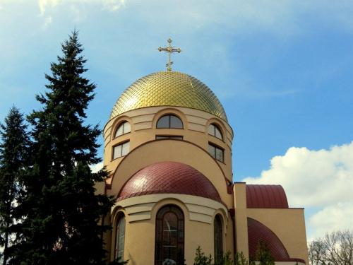 Cerkiew prawosławna w Szczecinie.