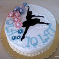 Baletnica #Baletnica #tort #TortyOkazjonalne #tancerka