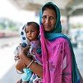 Na peronie #Indie #ludzie #podroze #religia