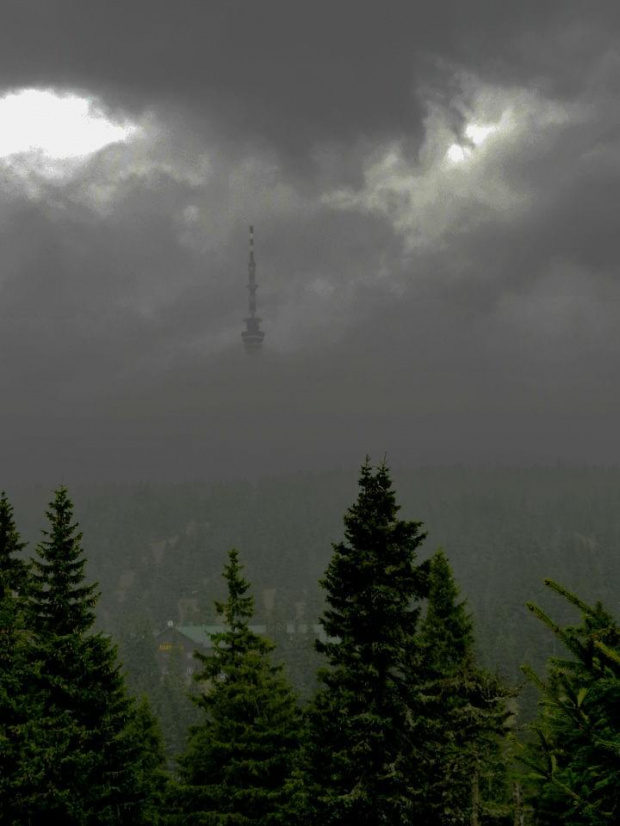 Pradziad #Pradziad #góry #chmura #mgła #Jeseniky