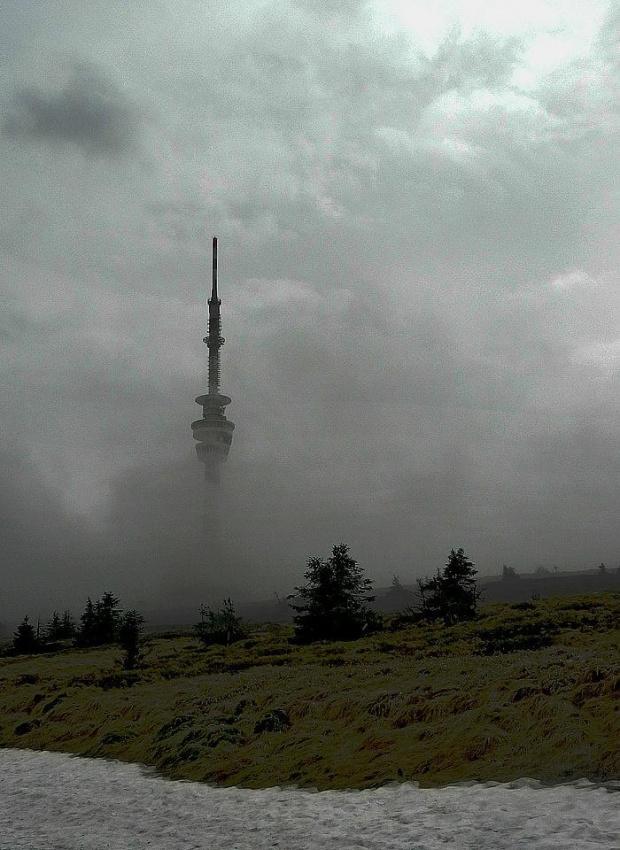 Pradziad #Pradziad #góry #chmura #mgła #Jeseniki