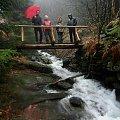 Jak to w górach: z góry woda, z dołu woda, chlupie w... aparacie #Jeseniky