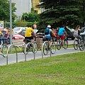 Ubiory cyklistów róznokolorowe #PttkRajdOsiek