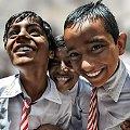 na przerwie szkolnej #ludzie #Indie