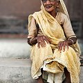 uśmiechnięta babcia #ludzie #Indie