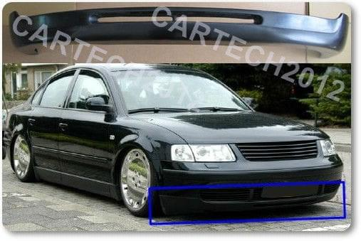 vw passat b5 3b 1995 2000 front bumper spoiler tuning ebay. Black Bedroom Furniture Sets. Home Design Ideas