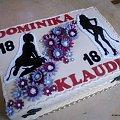 Torcik dla 18 -nastek #osiemnastka #diabły #TortyOkazjonalne #tort