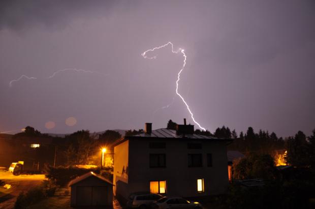 #NocneNiebo #burza #pioruny