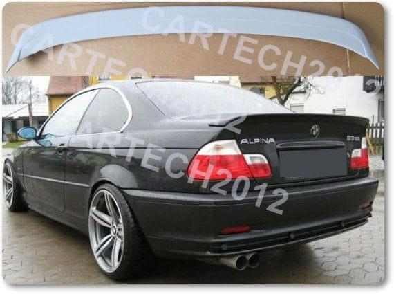 bmw 3 series e46 coupe alpina rear boot spoiler tuning ebay. Black Bedroom Furniture Sets. Home Design Ideas