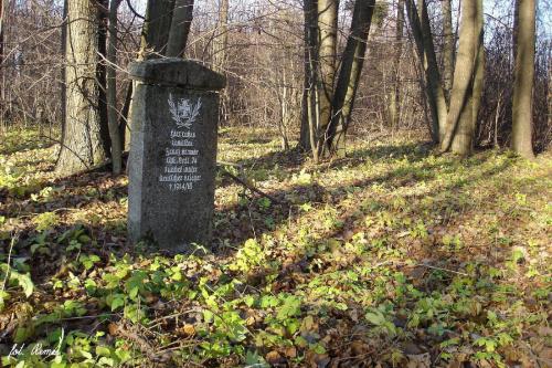 Baranowo - mogiła wojenna z 1914/15r #Baranowo