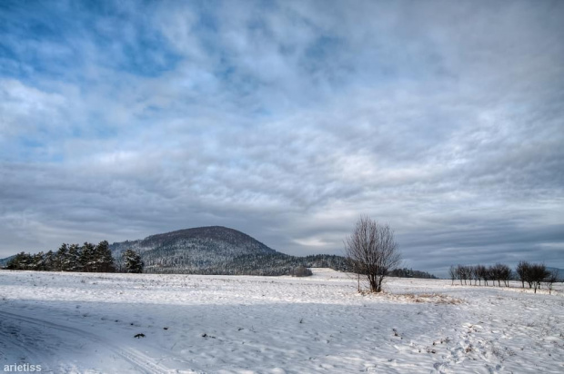 W końcu zima... #arietiss #góry #HDR #krajobraz #zima