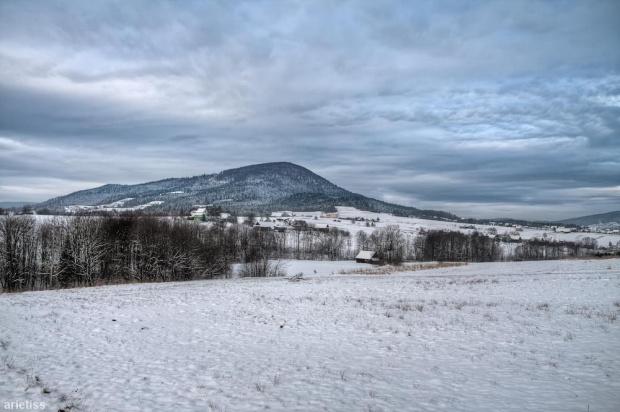 Zimowy Lubogoszcz... #arietiss #góry #HDR #krajobraz #zima