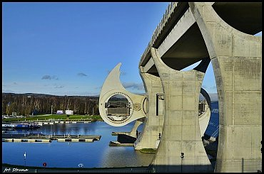Falkirk Wheel , Szkocja