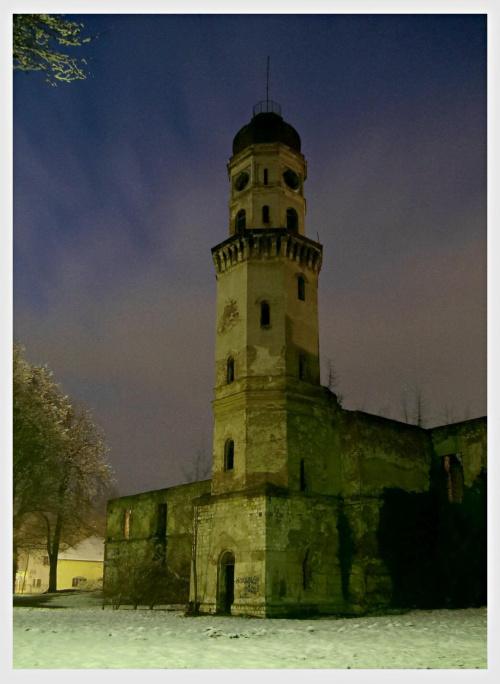 Wieża Strzeleckiego zamku .