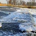 #Kłodnica #przyroda #rzeka #Sławięcice #woda #wodospad #zima