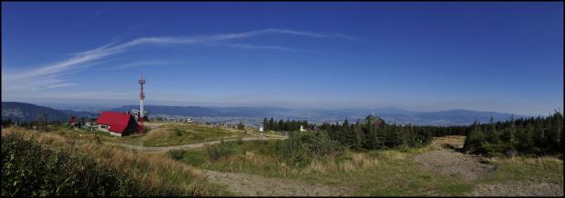 Widok ze Skrzycznego. #panorama #góry #skrzyczne #wycieczka