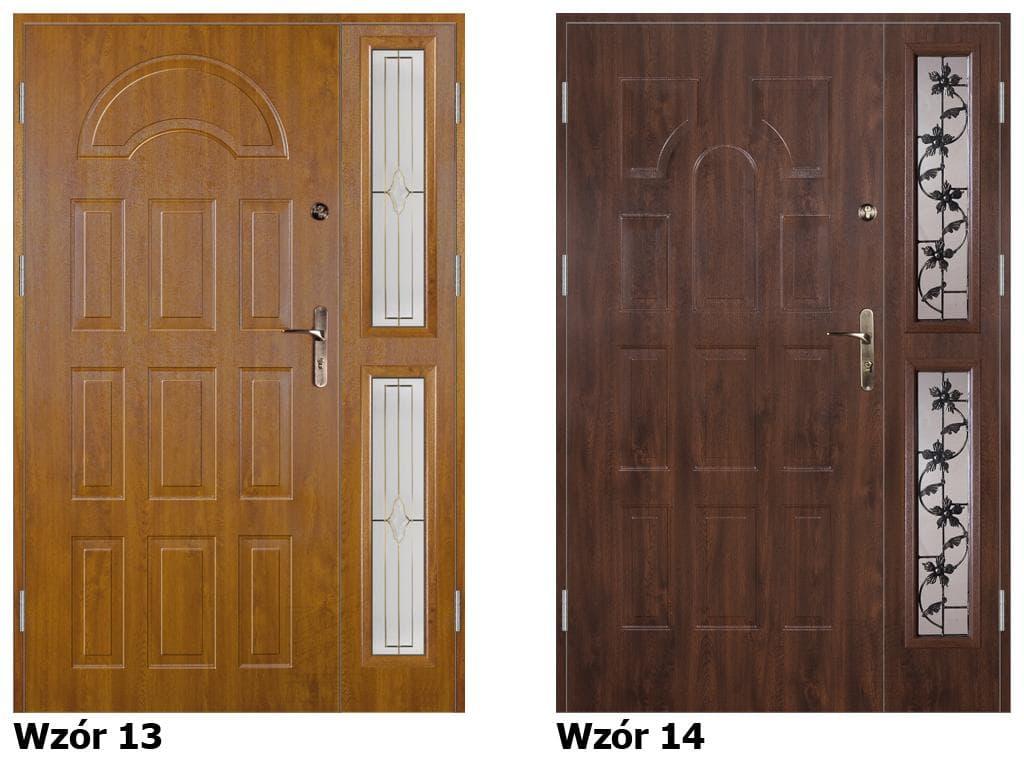 входные двустворчатые металлические двери от производителя