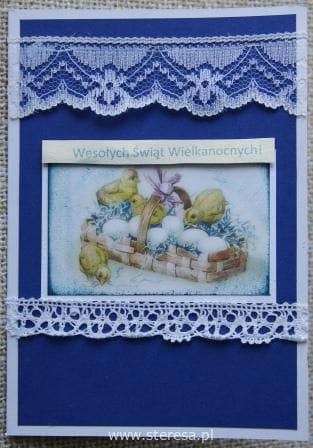 Kartka Wielkanocna ręcznie robiona #KartkaQuillingowa #KartkiWielkanocne #quilling #RęcznieRobiona #wielkanoc